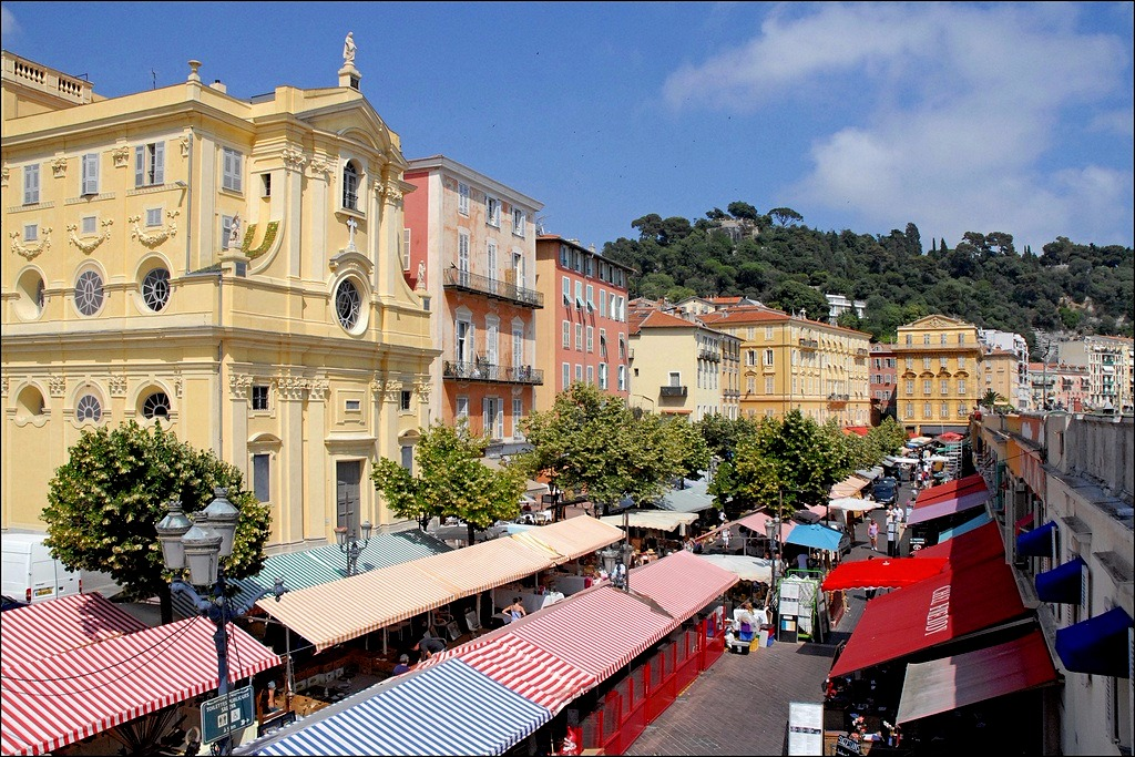 marché brocante saleya à Nice