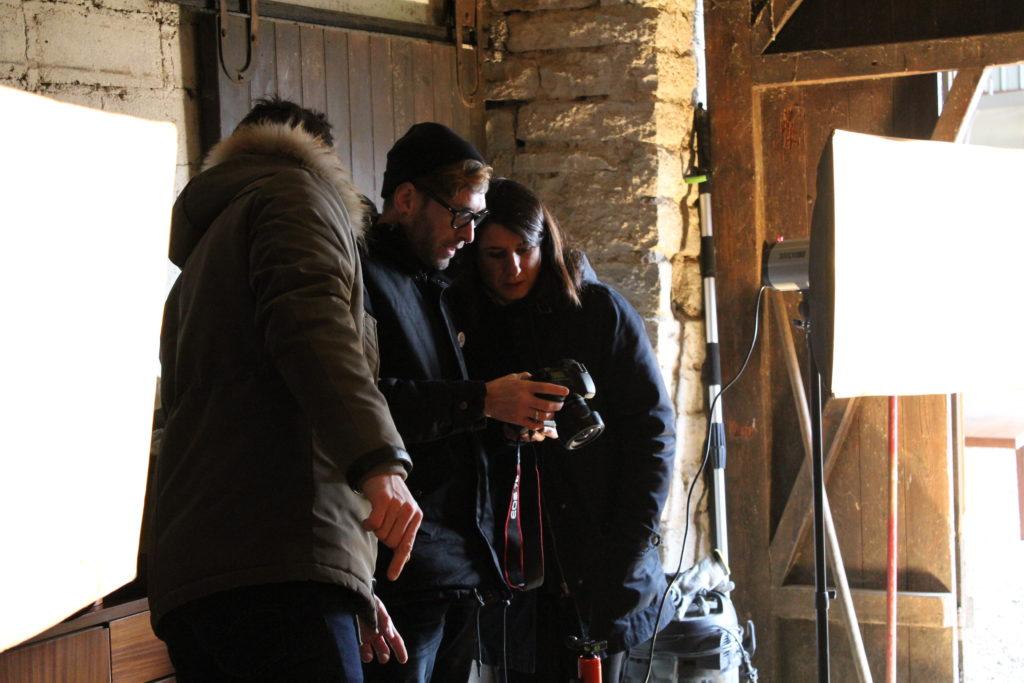 Adeline et Alexis avec le photographe