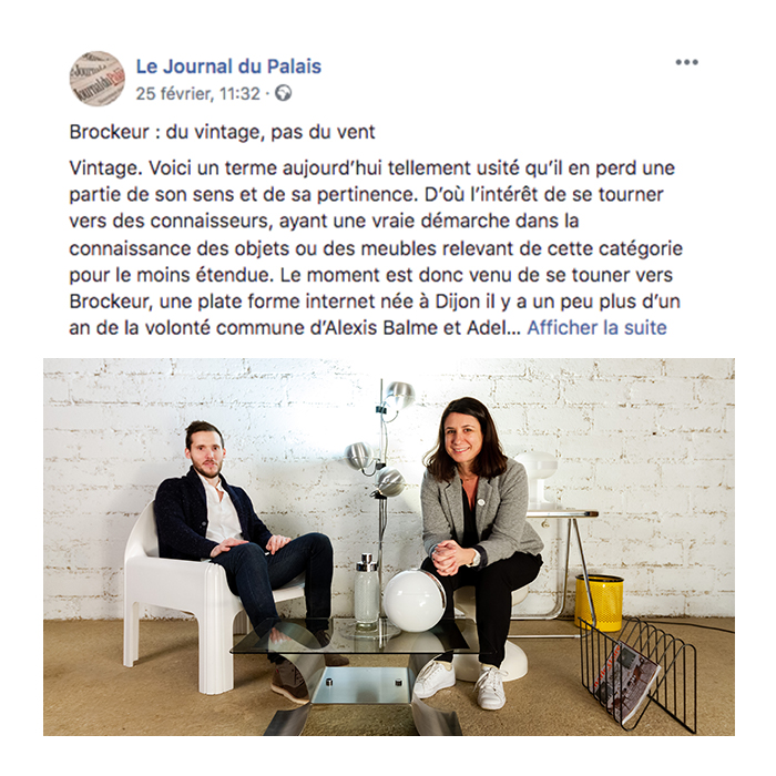 Article facebook journal du palais