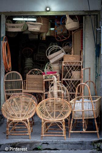 chaises rotin